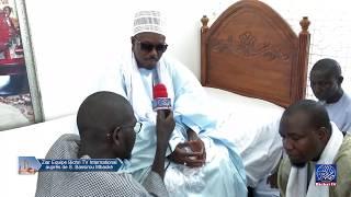 Ziar de l'Equipe de Bichri TV auprés de S. Bassirou Mbacke Abdoul Khadr