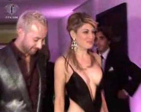 Paris Hilton, Hofit Golan, Scott Henshall  - De Grisogono cannes party