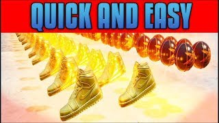 How to Collect 50 Shoes, Basketball, and Coins In Creative EASY & FAST! (Fortnite Challenges)