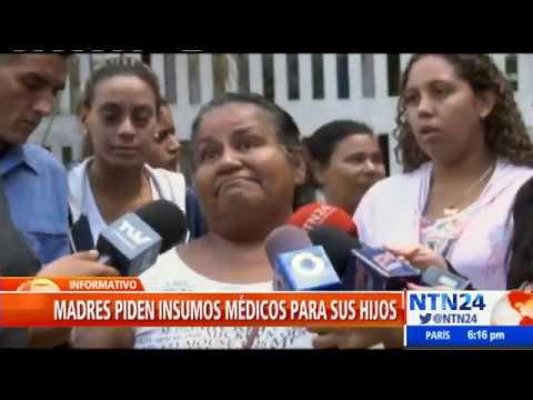 """""""Se nos están muriendo los niños"""": madres venezolanas claman por ayuda humanitaria"""