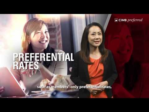Wealth Management Experience Built Around You with CIMB Preferred
