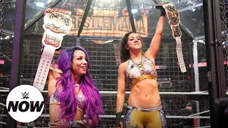 First-ever WWE Women's Tag Team Champions crowned at Elimination Chamber: WWE Now