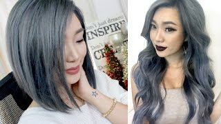 ALL about my GREY/SILVER HAIR || with footage & photos