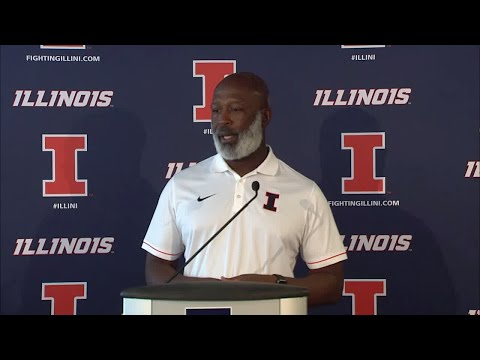 Lovie Smith Press Conference 8/27/18