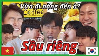 Burn in hell. Durian challenges by Koreans.
