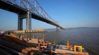 New Ny Bridge – Time Lapse, 2013 To 2014