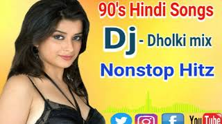Collection of 90s superhit romantic DJ (Hi Bass mix) Song | old Hindi dj Song