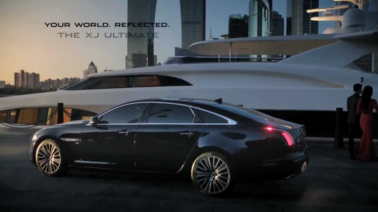 New Jaguar XJ 2013 Ultimate Commercial Your World, Reflected Carjam TV HD  Car TV Show