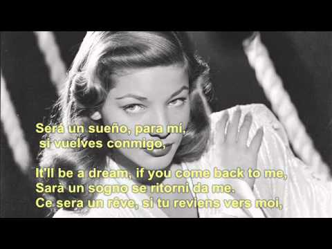 CYRUS- COME PRIMA- (For the first time- Come antes) / lyrics/ translations