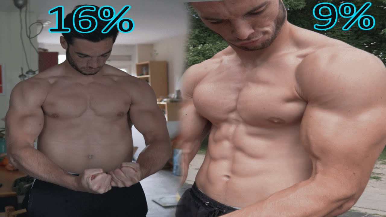 16% To 9% Bodyfat Transformation (Natural no Steroids)
