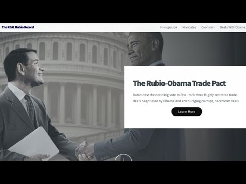 Cruz Campaign Admits To Using Doctored Image Of Rubio And Obama - Newsy