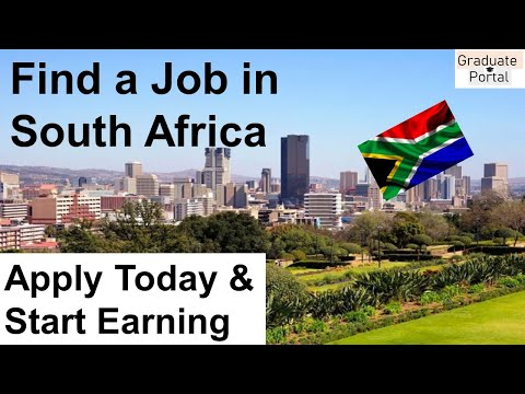 Available jobs in South Africa│ How to Get a Job in South Africa│ Graduate Jobs