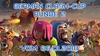 Clash of Clans: GCC - German Clash Cup Vol. 2 (mit DC) - Livestream Twitch