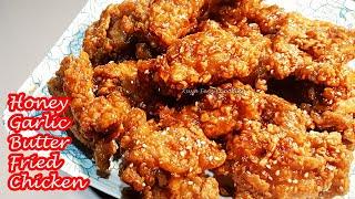 KFC STYLE HONEY GAŔLIC BUTTER FRIED CHICKEN!!!