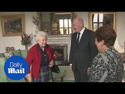 The Queen held an audience with Sir Peter Cosgrove at Balmoral. - Daily Mail