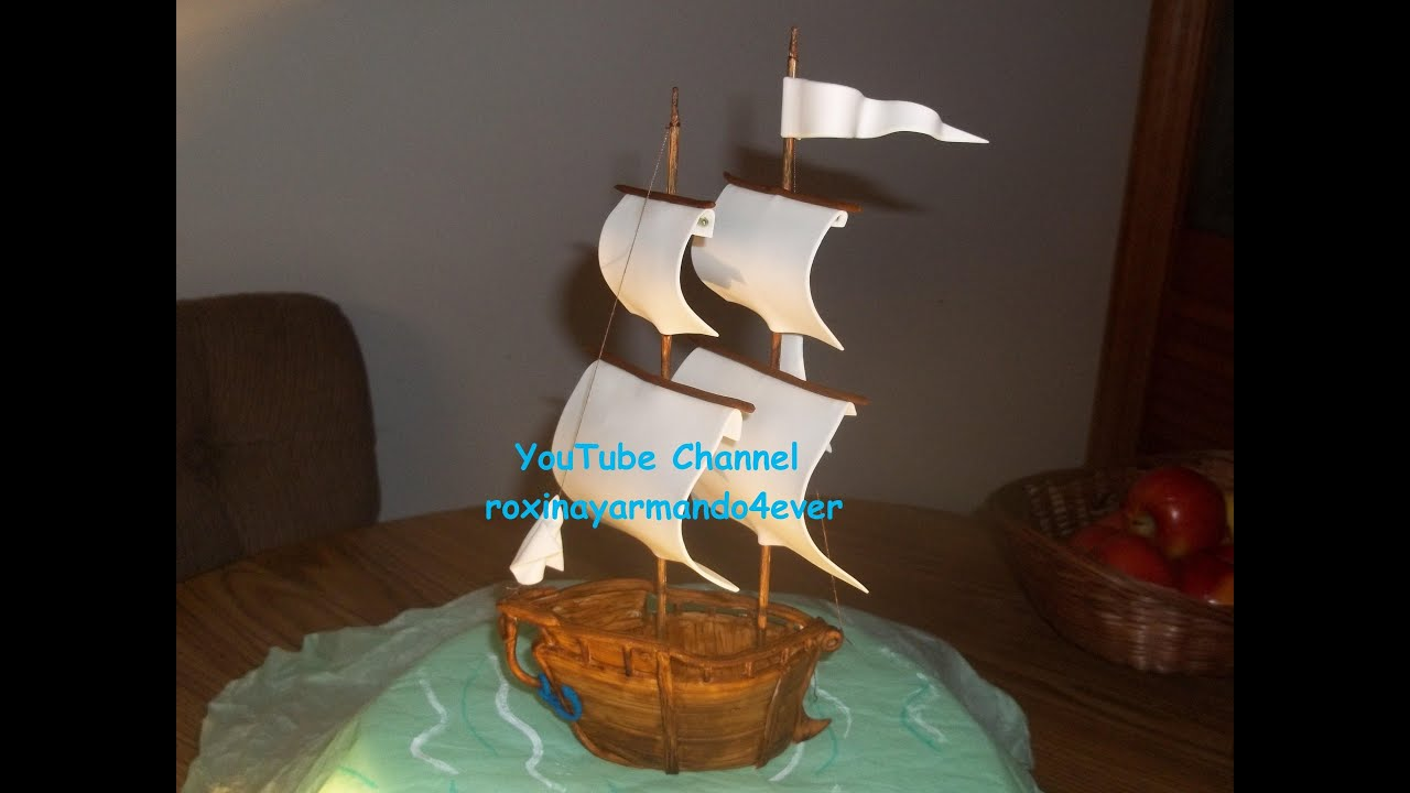How To Make Pirate Ship Cake Video