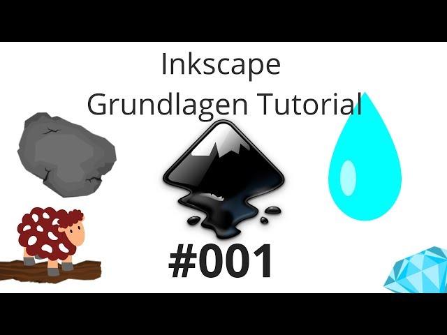 Inkscape Grundlagen Tutorial [Deutsch] #001 Rechtecke Ellipsen und Vektorgrafiken