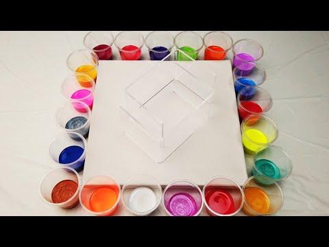 Acrylic Pouring-20 colors-Solid acrylic + fluid acrylic-Abstract Acrylic#91