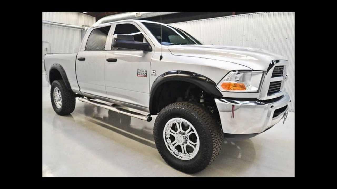 2011 dodge ram 2500 diesel crew cab slt lifted truck for sale youtube. Black Bedroom Furniture Sets. Home Design Ideas