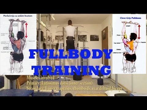 Fullbody training (Primer treninga za celo telo) DayInLife#18