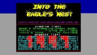 into The Eagles Nest Crack Intro - Gudkov Ivan [#zx spectrum]