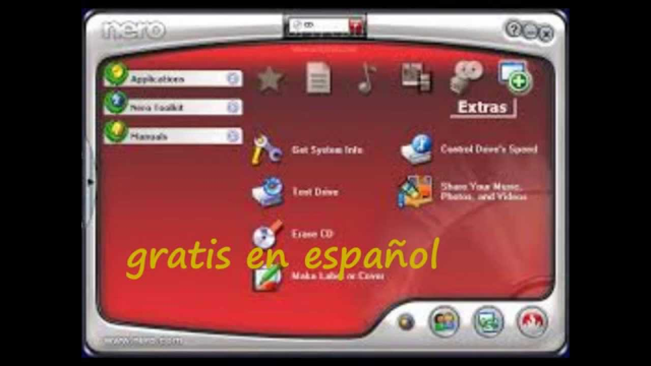 nero express descargar gratis en español windows 7