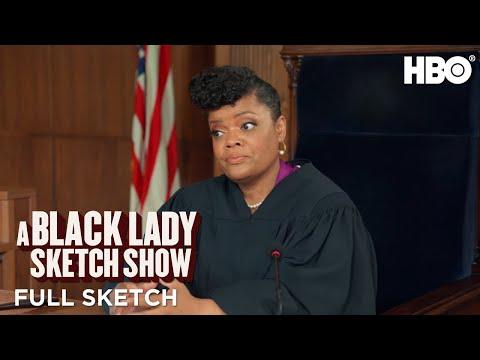 A Black Lady Sketch Show: Courtroom Kiki (Full Sketch)   HBO