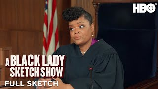 A Black Lady Sketch Show: Courtroom Kiki (Full Sketch) | HBO