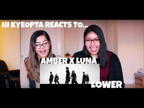 ♪ Amber x Luna 'Lower' - HIKyeopta Reacts ♪