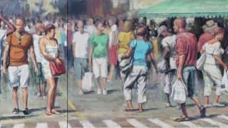 Achilles Kwagn, Artiste peintre