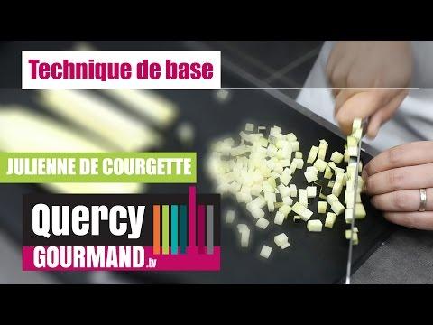 Comment faire une julienne de courgettes – quercygourmand.tv