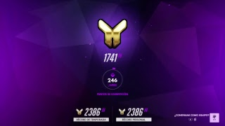 Overwatch: Competitivo en directo. ROAD TO PLATINO EP. 05