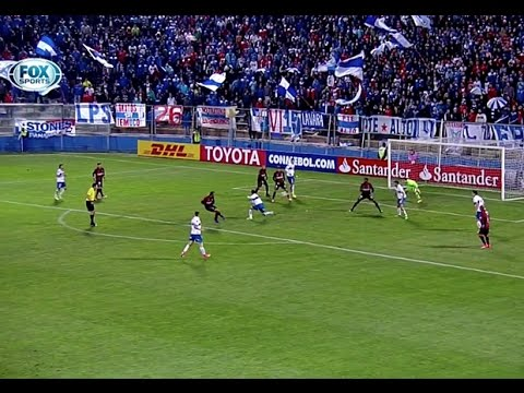 Gols: Universidad Católica 2x3 Atlético Paranaense