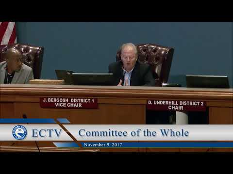 Nov. 9 Committee of the Whole Housing Tax Credit Application Discussion