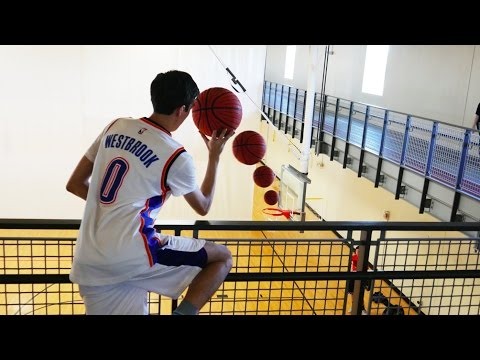 Thumbnail: CRAZY BASKETBALL TRICK SHOTS