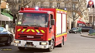 BSPP Camion de Désincarcération 6 // Paris Fire Heavy Rescue 6 with Sirens