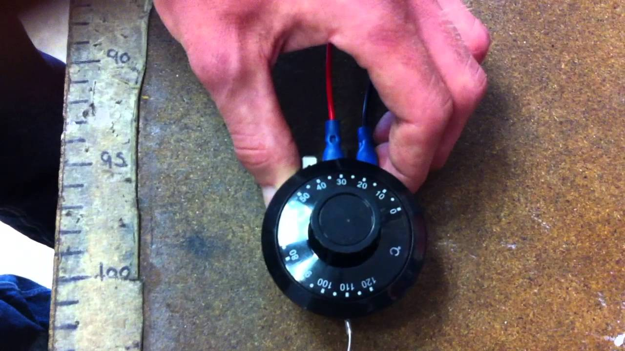 bb classics fitting radiator fan thermostat youtube