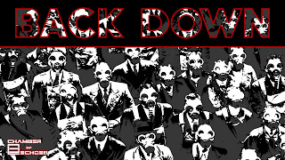 Chamber of Echoes - Back Down | Industrial Rock, Synthwave, Cyberpunk Music Preview|