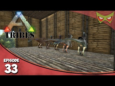 Ark: Tribes - Ep 33 - Raptor Eggs! - Let's Play On Pooping Evolved