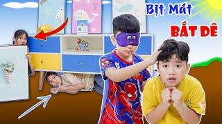 Trò Chơi Bịt Mắt Bắt Dê - Tuổi Thơ Vui Nhộn ♥ Min Min TV Minh Khoa
