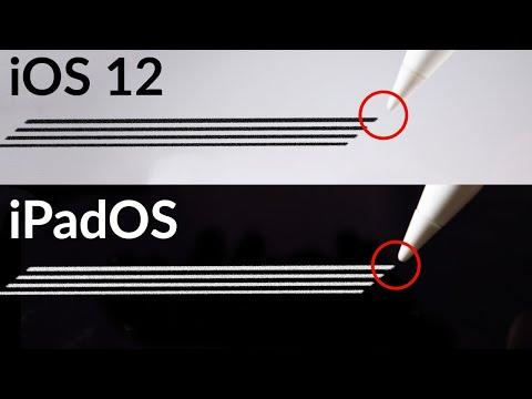 iOS 12 vs. iPadOS: Apple Pencil Latency Test!