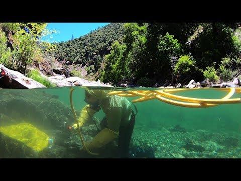 We Found CHUNKY Gold Mining Underwater