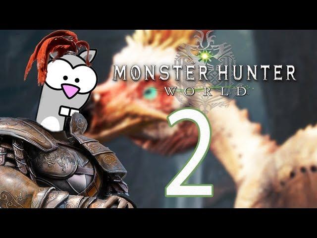 Hunting the Kula-Ya-Ku - Monster Hunter: World Co-Op Gameplay / Walkthrough - PC - Episode 2