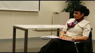 Briefing Room - Taking briefing before a flight in Qatar airways #shorts