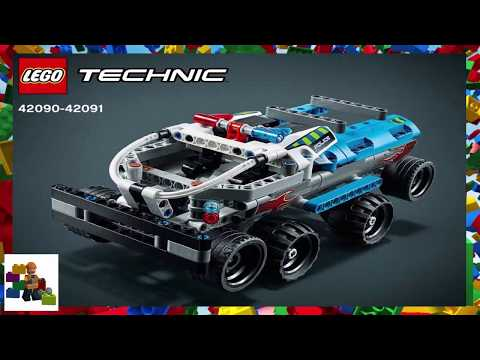 LEGO Instructions - Technic - 42090 + 42091 - Ultimate 4x4