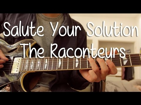 """How To Play """"Salute Your Solution"""" By The Raconteurs On Guitar"""
