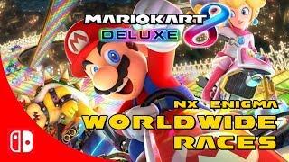 Mario Kart 8 Deluxe | Worldwide Races | nx@Enigma | Febrero 2019 #1