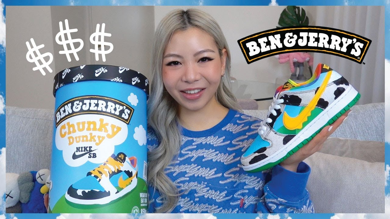 Worth It? Ben & Jerry's Nike SB Dunk Low 'Chunky Dunky' Special Box