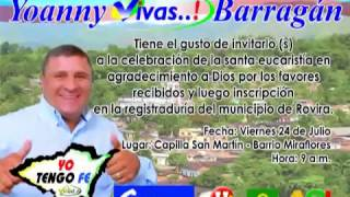 WILSON PADILLA  Vivas Barragan Alcalde de Rovira Tolima   video