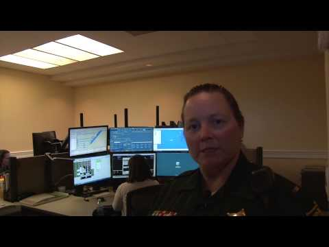 911 Call Center in Monroe County.  Sheriff's Office Communications Division
